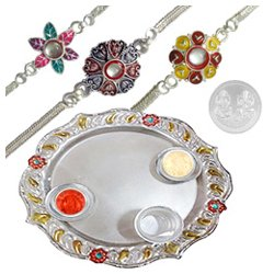 Fancy Aarti Thali Gift Set