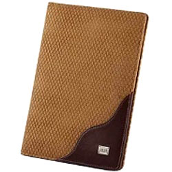 Beige & Brown Styled Faux Styliesh Conference Pad from Vaunt