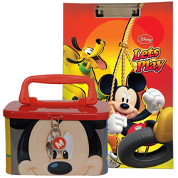 Beautiful Disney Mickey Designed Stationary Set
