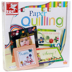 Engaging Paper Quilling Artwork Set by ToyKraft