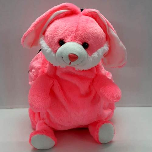 Classic Bunny Shaped Soft Toy School Bag for Kids