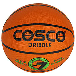 Comfy Cosco Dribble Basketball (Size 7) with Butyl Bladder
