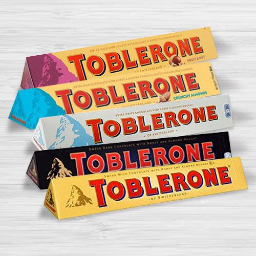Marvelous Assorted Toblerone Chocolates