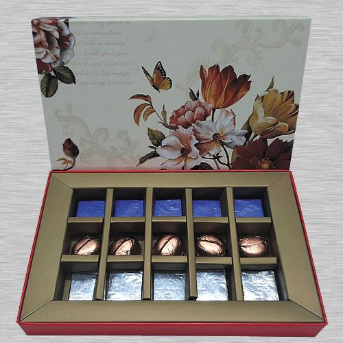 Lip-Smacking Dried Fruit Filled Handmade Chocolate Box