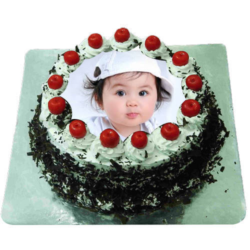 Marvelous Black Forest Photo Cake