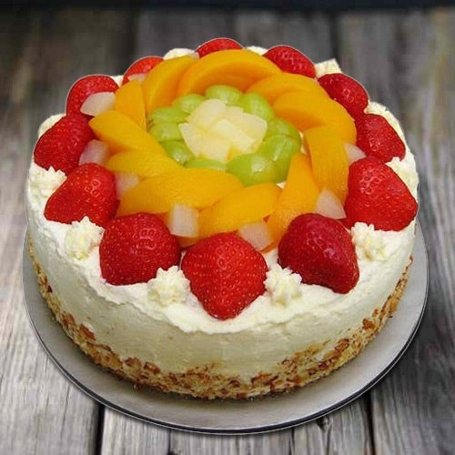 Relaxation�s Richness 1 Kg Egg-less Fresh Fruit Cake