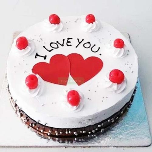 Delicate Propose Day Gift of Tasty Black Forest Cake