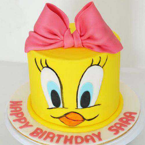 Wholesome Birthday Special Tweety Cake