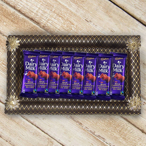 Delightful Hamper of Cadbury Dairy Milk