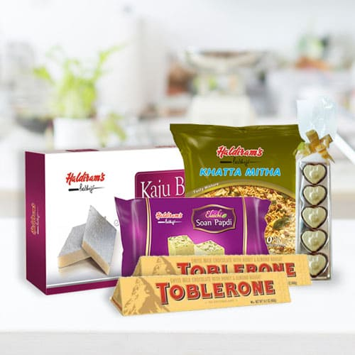 Tasty Haldirams Sweet N Savor Assortment