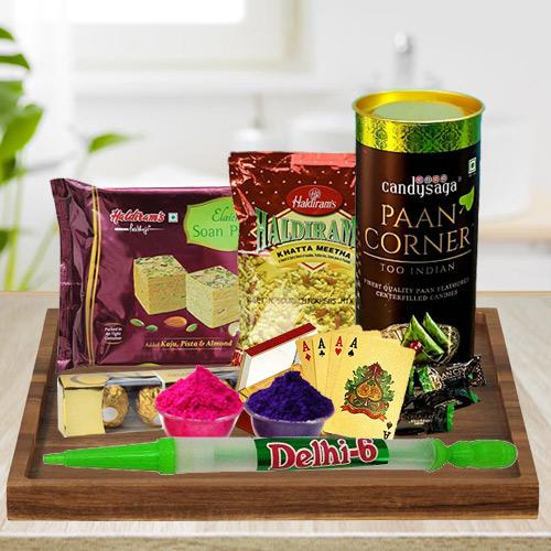 Mind Blowing Holi Gifts Hamper