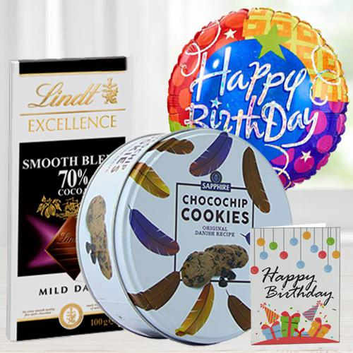Delicious Birthday Chocos n Cookies Combo
