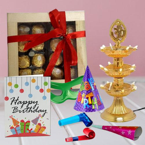 Enticing Ferrero Rocher Chocos in a Wooden Box with Assortments