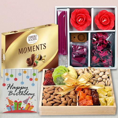 Exquisite Dry Fruits N Assortments Gift Hamper
