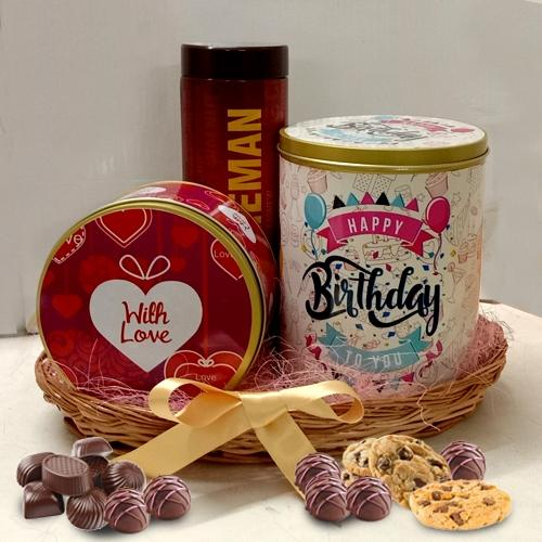 Delectable Chocos n Cookies Tin Box