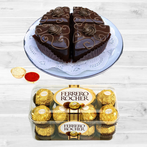 Yummy Ferrero Rocher Chocos N Pastries