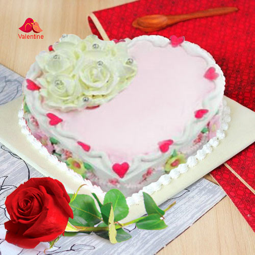 Love Cake N 1  Red  Rose