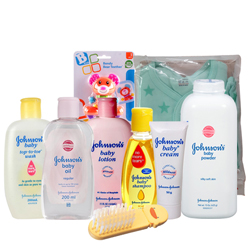 Admirable Johnson Baby Gift Set