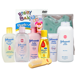 Exclusive Johnson Baby Care Gift Set