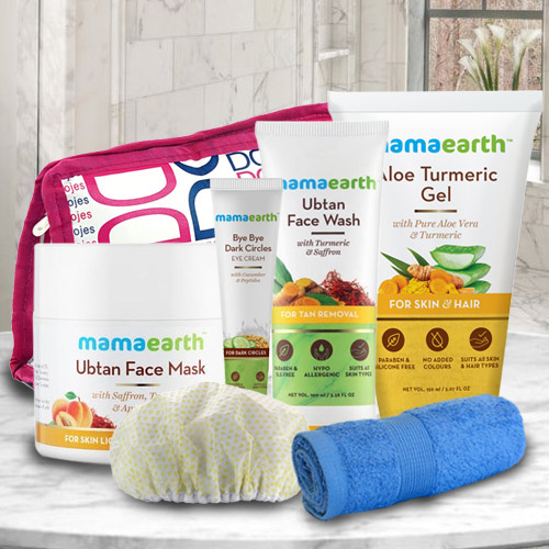 Marvelous Mama Earths Face Care Gift Hamper