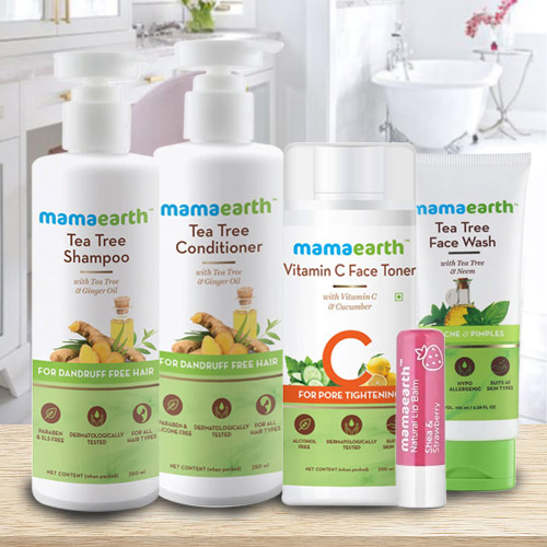 Marvelous Mama Earths Hair N Face Care Hamper