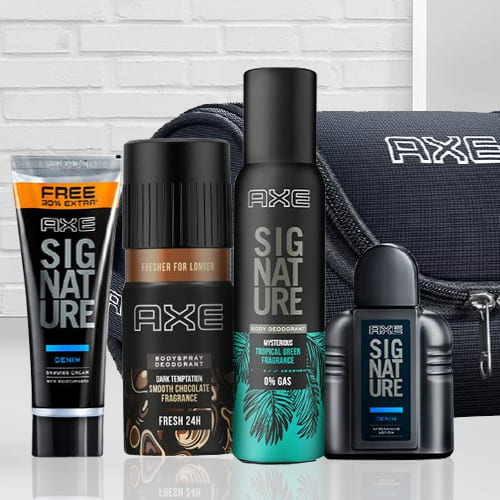 Refreshing Axe Mens Grooming Kit for Father