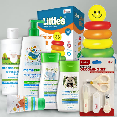 Exclusive New Born Baby Care Gift Hamper