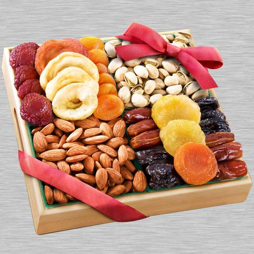 Premium Dry Fruits Tray