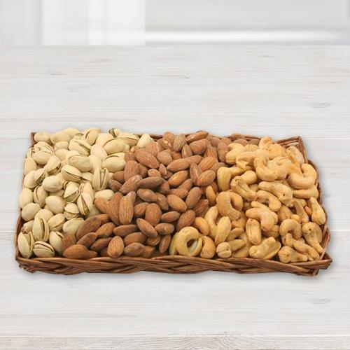 Premium Dried Nut Gift Basket