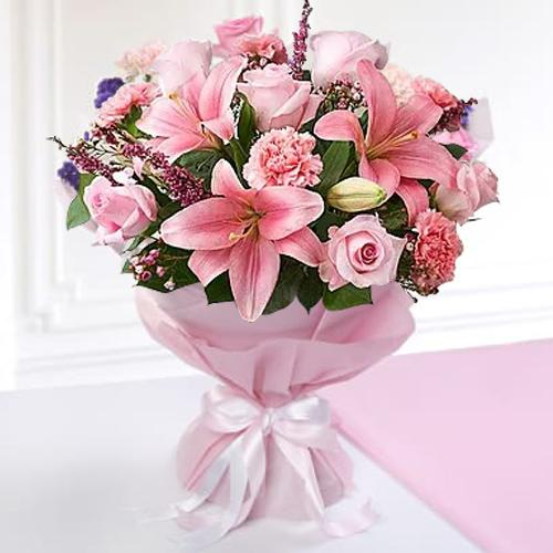 Beautiful Seasonal Flowers Bouquet
