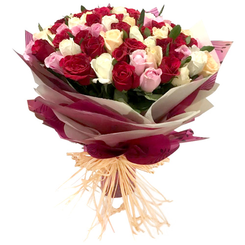Premium Assorted Rose Bunch