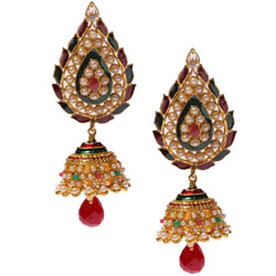 Fantastic Long Jhumka Earring Set
