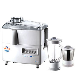 Cool Bajaj Majesty Juicer Mixer Grinder with 1L Stainless Steel Grinding Jar