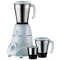Fancy Bajaj 3 Jar Mixer Grinder with Sturdy Stainless Steel Jars