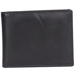 Wonderful Black Coloured Gents Wallet from Longhorn
