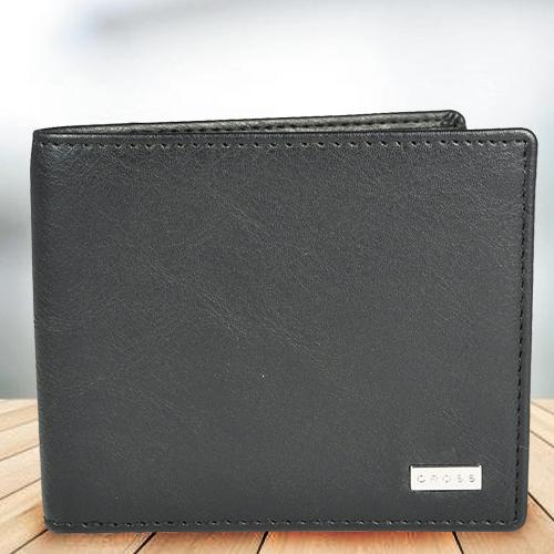 Fabulous Black Mens Leather Wallet from Cross