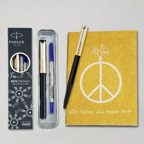 Marvelous Parker Ball Pen with Eco Friendly Dairy