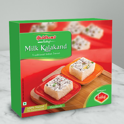 Haldirams Relish�s Rejoice Milk Kalakand Sweets Box