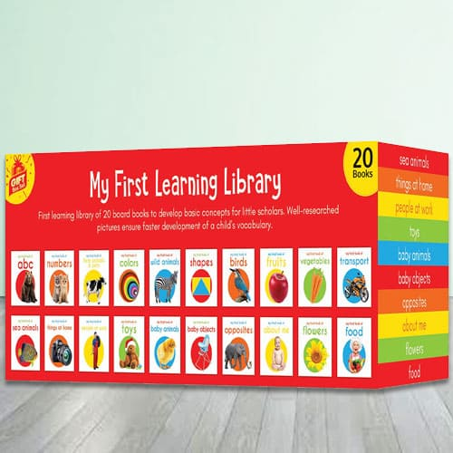 Amazing Learning Books - My First Learning Library Boxset