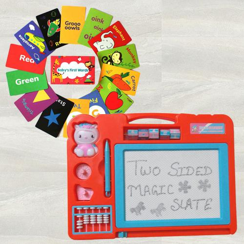 Marvelous Double Sided Flashcards N Magic Slate