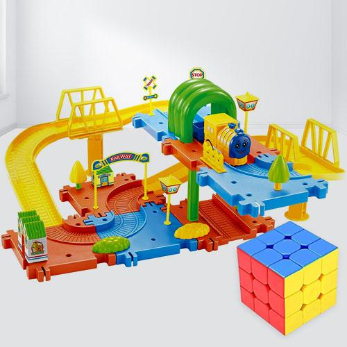 Amazing Speed Cube N Toy Train Set<br><br>