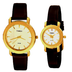 Fancy Pair of Couple's Watches with Trendy Gesture