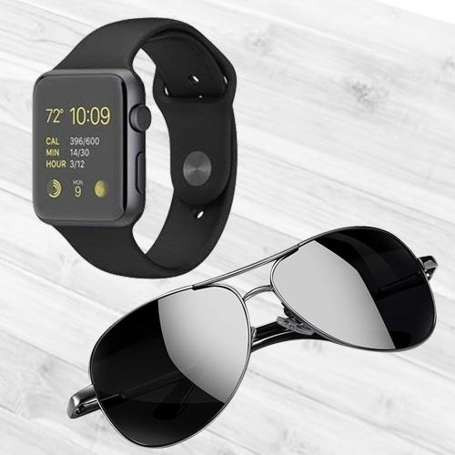 Exclusive Bluetooth Smart Watch N Polarized Sunglasses